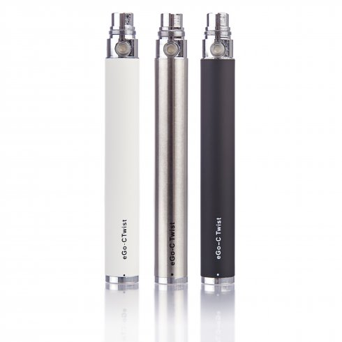 eGo Twist Variable Voltage Battery 650-1300mAh