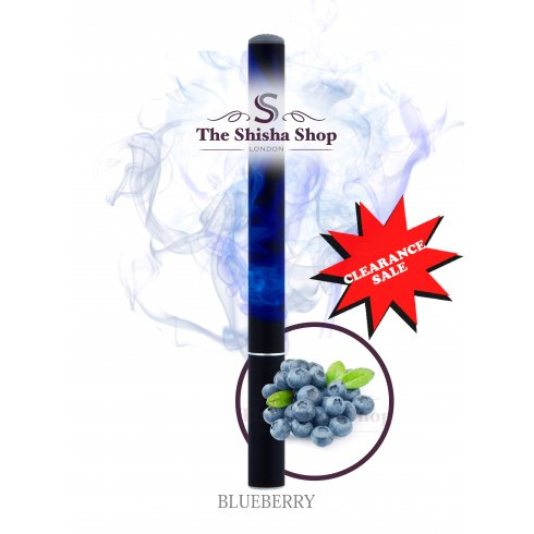 Mini Shisha Clearance Offer - Blueberry Flavour Disposable Shisha Pen (500 Puffs)