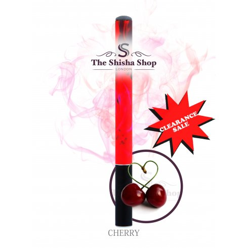 Mini Shisha Clearance Offer - Cherry Flavour Disposable Shisha Pen (500 Puffs)