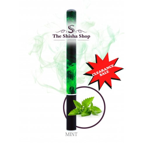 Mini Shisha Clearance Offer - Mint Flavour Disposable Shisha Pen (500 Puffs)