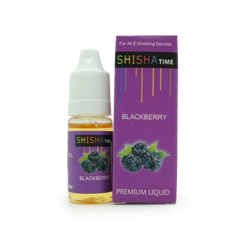 Shisha Time Blackberry Flavour E-Liquid