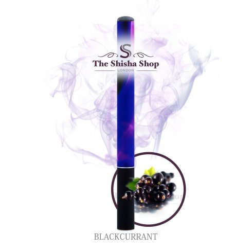 Shisha Time Blackcurrant Flavour Disposable Shisha Pen (500 Puffs)