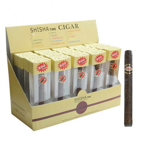 Shisha Time Cherry Flavour e-Cigar (800 puffs)