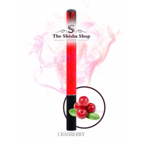 Shisha Time Cranberry Flavour Disposable Shisha Pen (500 Puffs)
