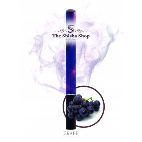 Shisha Time Grape Flavour Disposable Shisha Pen (500 Puffs)