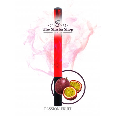 Shisha Time Passion Fruit Flavour Disposable Shisha Pen (500 Puffs)