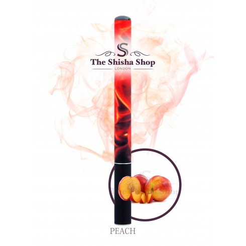 Shisha Time Peach Flavour Disposable Shisha Pen (500 Puffs)