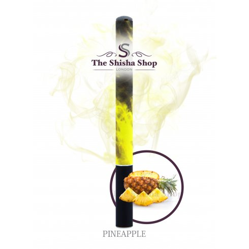 Shisha Time Pineapple Flavour Disposable Shisha Pen (500 Puffs)
