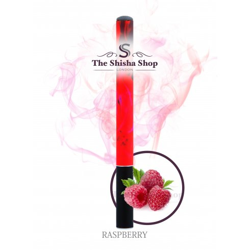 Shisha Time Raspberry Flavour Disposable Shisha Pen (500 Puffs)