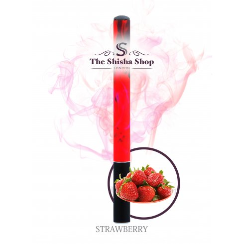 Shisha Time Strawberry Flavour Disposable Shisha Pen (500 Puffs)