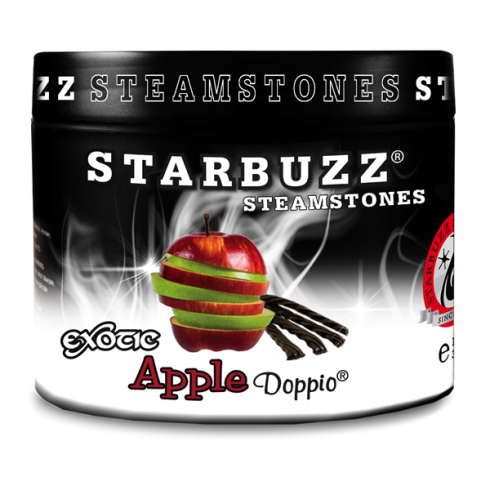 Starbuzz Apple Doppio Flavour Shisha Steam Stones 125g