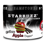 Apple Doppio Flavour Shisha Steam Stones 125g