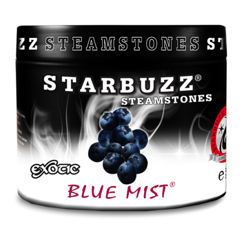 Starbuzz Blue Mist Flavour Shisha Steam Stones 125g