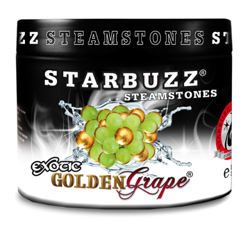 Starbuzz Golden Grape Flavour Shisha Steam Stones 125g