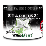 White Mint Flavour Shisha Steam Stones 125g